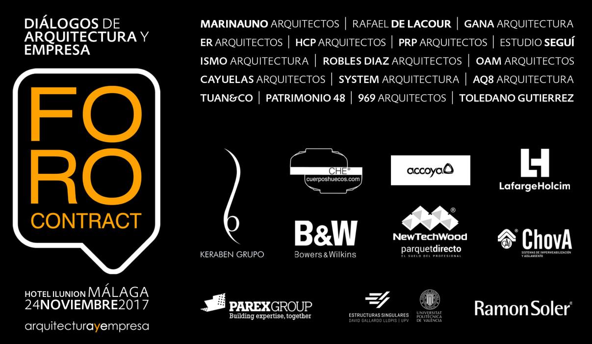 Foro Contact - Arquitectura y Empresa - Málaga
