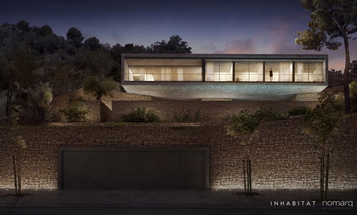 Inhabitat Study House - Nomarq Estudi Arquitectura - Render