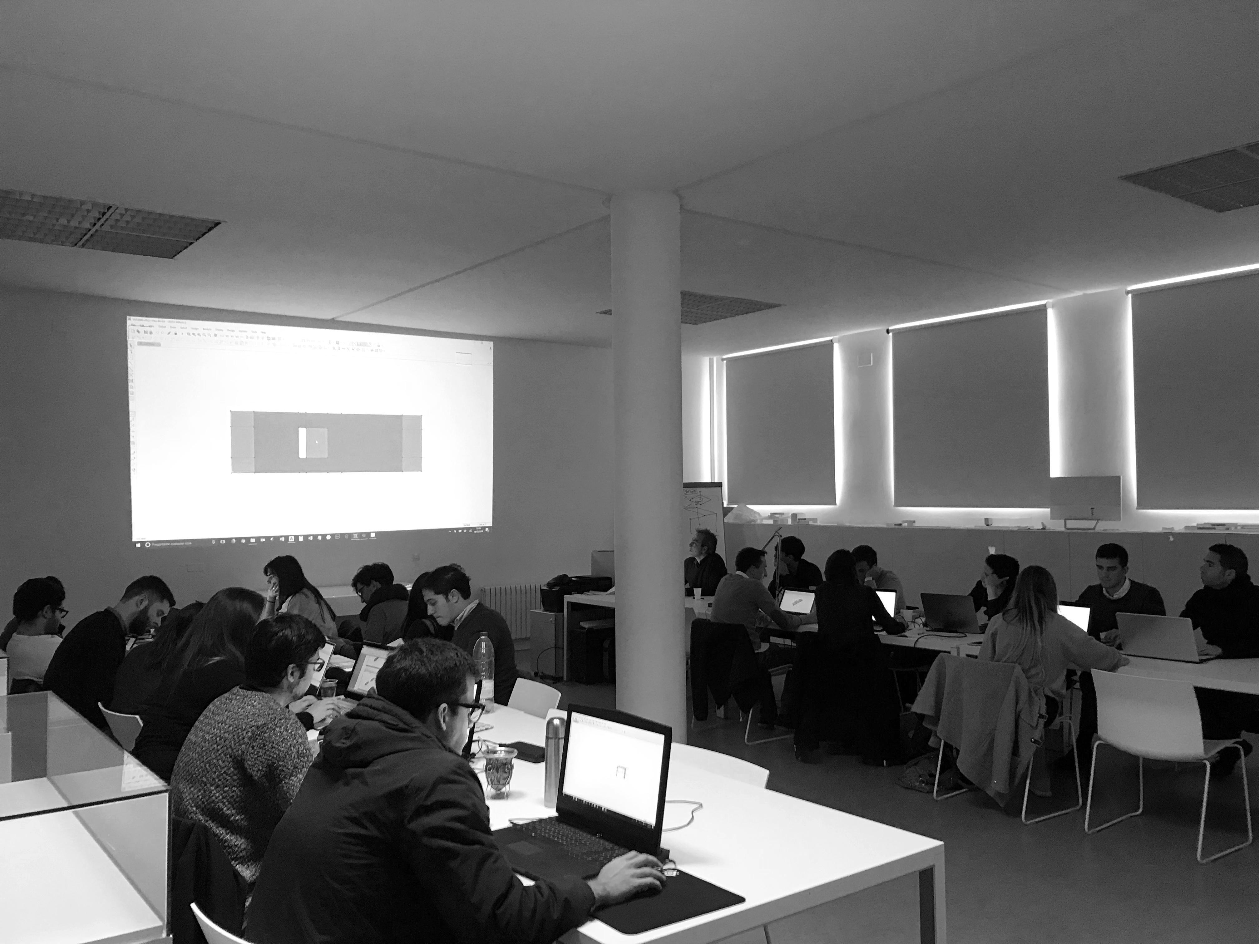 Sesión estructuras en March Valencia - Máster en Arquitectura y Diseño