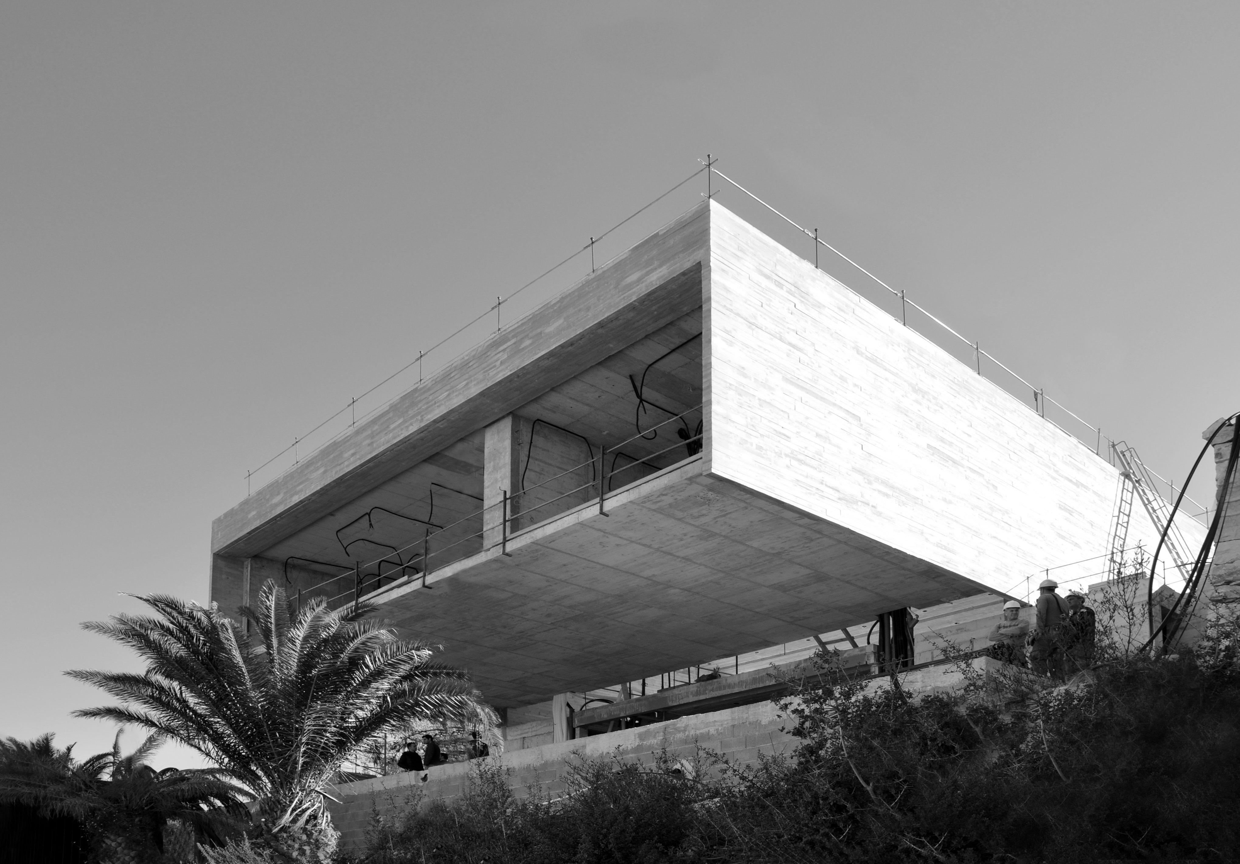 Inhabitat Study House - Nomarq Estudi Arquitectura - Obra